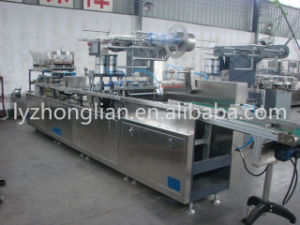 Dpp-350 High Quality Plate Type Vial and Ampoule Blister Packaging Machine pictures & photos