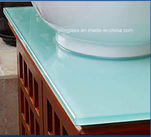 Toughened Glass Table Top with 8mm 10mm 12mm, Milk Color pictures & photos