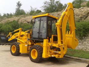 Compact Front and Bakchoe Loader pictures & photos