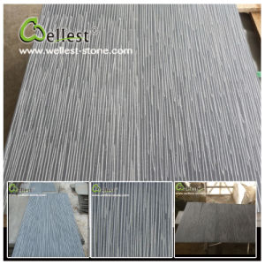 China Natural Hainan Grey Basalt/Bluestone Autumn Rained Basalt Tile pictures & photos