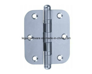 Stainless Steel Round Corner Hinge with Ball Tip