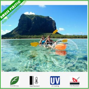 Sea Fishing Kayak for Sale Scotland Polycarbonate Clear Canoe Boat pictures & photos