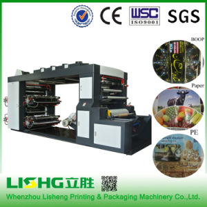 Ytb-4600 Linen Fabric Flexo Printing Machine pictures & photos