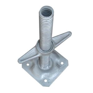 High Quality Adjustable Screw Jack Base for Scaffold pictures & photos