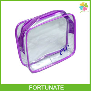 Clear Vinyl Cosmetic Bag Make up Set Bag
