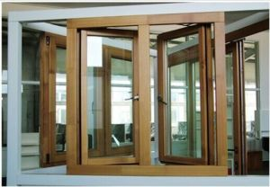 Aluminum out-Side Opening Casement Window with Stele pictures & photos