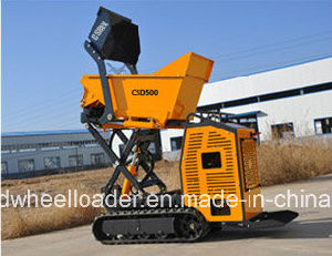 CE Certificated Hydraulic Mini Skid Steer Dumper pictures & photos