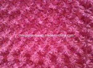 PV Fleece Blanket, Rose Shape Double Layers Blanket