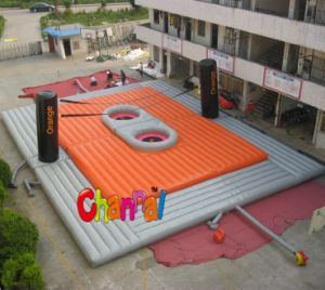 Giant Inflatable Water Volleyball Court for Sale Chsl203 pictures & photos