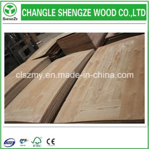 3mm Wood Veneer Laminated/Melamine Woodgrain HDF Door Skin pictures & photos