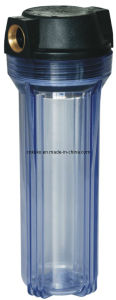 10 Inch Clear Water Filter Housing Kk-Fs-10-12 pictures & photos