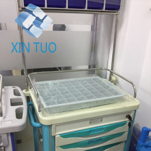Factory Direct Price Medical Trolley ABS Anesthesia Medical ABS Trolley Price for Hospital Dressing pictures & photos