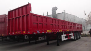 Chhgc Cargo/Fence Semi-Trailer with Side Wall pictures & photos