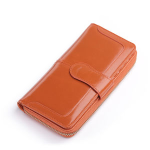 New Arrival Cowhide Leather Lady Card Holder Wallet