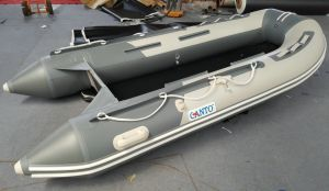 12.5FT 3.8m PVC Inflatable Fishing and Sport Boat Hy-E380 with Aluminum Floor Ce pictures & photos