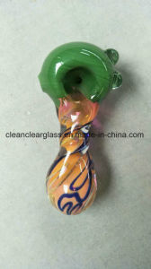 Ccg New USA Colored Glass Pipe Hand Pipe Spoon Pipe pictures & photos