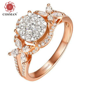 Wholesale Silver Ring for Import with Cubic Zircon Stone