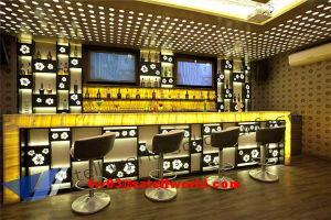 Round Top Quality Bar Counter Marble Restaurant Bar Home Bar Counter pictures & photos