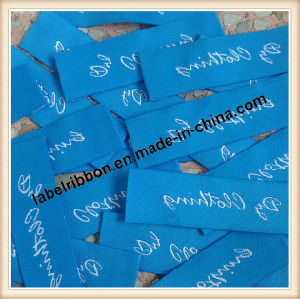 OEM Garment Trademark Neck Woven Label pictures & photos