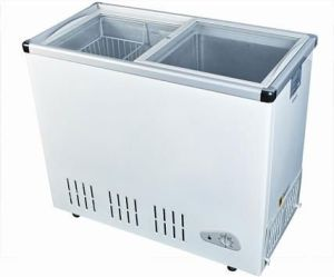 Glass Door Freezer 350L Capacity (SD-350Q)