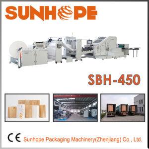Sbh450 Full Servo Block Bottom Paper Bag Making Machine pictures & photos