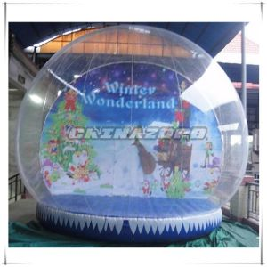 Big Size 6mdia Inflatable Christmas Snow Globe for Christmas Decoration pictures & photos