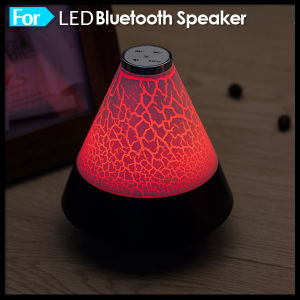 Colorful LED Light Subwoofer HiFi Portable Wireless Bluetooth Speaker pictures & photos