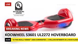 UL2272 Koowheel Hoverboard with Warehouse in USA and Germany pictures & photos