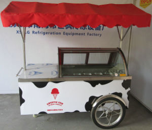 Xsflg′s Gelato Ice Cream Cart/Ice Cream Freezer pictures & photos