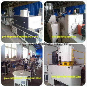 400-600mm High Efficient PVC Sheet Extruder/PVC Edge Banding Sheet Machine with Slitter and Printing Line pictures & photos