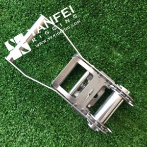 """2"""" Heavy Duty Stainless Steel Ratchet Buckle for 6000kgs pictures & photos"""