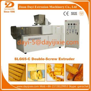 Cheese Puff Snack Production Line/Corn Puffs Snack Processing Line/Core-Filling Snack Food Machine pictures & photos