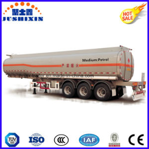 3 Axle 36cbm Petrol/Diesel/Cargo/Utility Carbon Steel Tanker Truck Semi Trailer pictures & photos