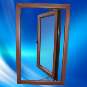 PVC Wooden Windows UPVC Casement Window