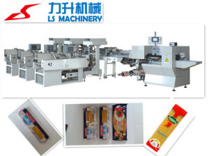 Automatic Linguine Packing Machine with Three Weighers (LS080) pictures & photos
