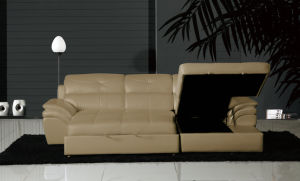 Folding Sofa Bed, Recliner Sofa, Home Furniture L Shape Sofa (Y999) pictures & photos