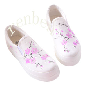 Hot New Sale Women′s Footwear Casual Canvas Shoes pictures & photos