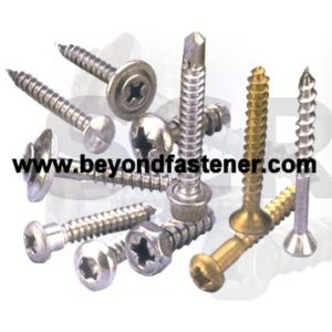Self Tapping Screw Self-Tapping Cutting Thread Screw Type 17 Point Color Screw pictures & photos