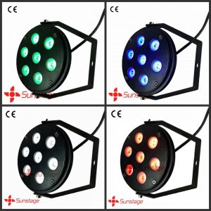 CNC Aluminum RGBW LED Spot / Tri Colour Edison LEDs IP33 for Home Decorate
