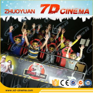 Thrilling 7D Cinema Equipment, 7D Theater with Gun Shooting 7D Cinema System pictures & photos
