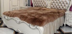 Genuine Sheepskin Fur Blanket Large Size pictures & photos
