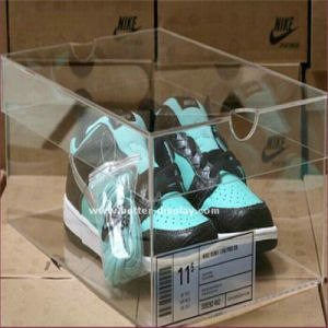 Clear Plastic Acrylic Shoe Box pictures & photos