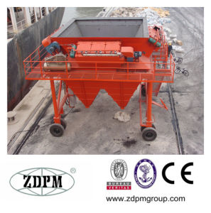 Dust Proof Fixed Hopper with Conveyor Belt Feed