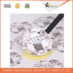 High Quality Paper Die-Cut Festival Label Printing Printed Self-Adhesive Sticker pictures & photos