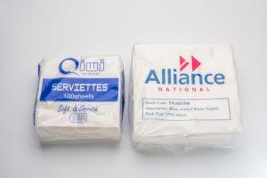 Whole Sale 100% Virgin Sanitary Paper Napkin Tissue pictures & photos