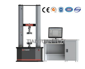 Ty8000 Electronic Universal Testing Machine 20kn-50kn Test Equipment (servo) pictures & photos