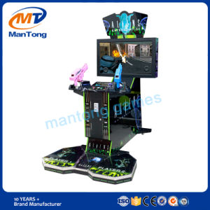 Hot Sale Aliens  2  Players Coin Operated Arcade Game Machine for Kids pictures & photos