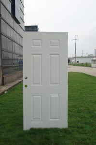 Classic 3pnl Steel Door pictures & photos