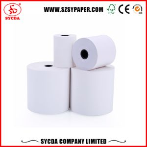 65GSM 80*80mm Fax Paper Roll Thermal Paper for Bank pictures & photos