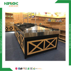 Supermarket Luxury Store Fruit and Vegetable Display Stand pictures & photos